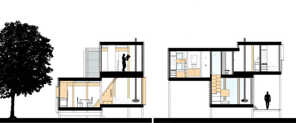 architecture kubo cabin cad. Black Bedroom Furniture Sets. Home Design Ideas